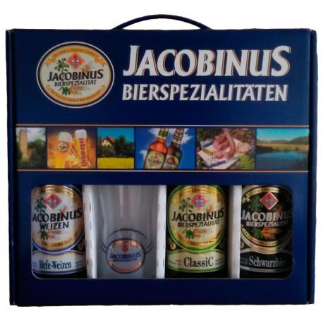 Kit Jacobinus com 3 Cervejas e 1 Copo