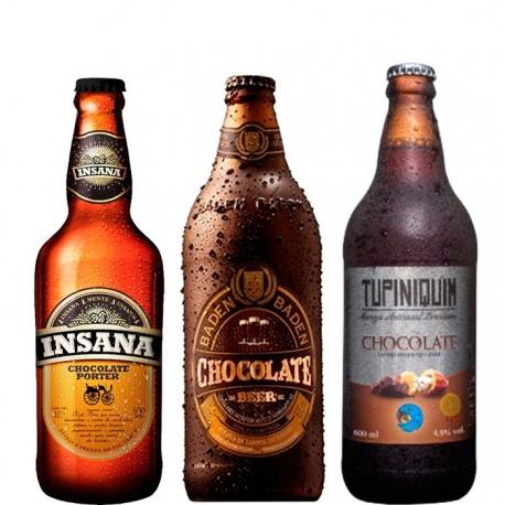 Kit Degustação Chocolate Beers