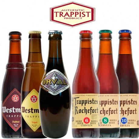 Kit Degustação Trapistas com 6 Cervejas