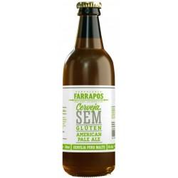 Cerveja Farrapos American Pale Ale Sem Glúten 330ml