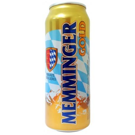 Cerveja Alemã Memminger Gold Lata 500ml