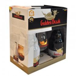 Kit Gulden Draak com 2 Cervejas e 1 Copo