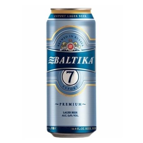 Cerveja Russa Baltika 7 Export Lata 500ml