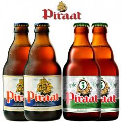 Kit Degustação Piraat com 4 Cervejas