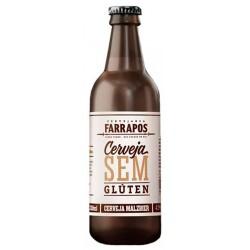 Cerveja Farrapos Malzbier Sem Glúten 330ml