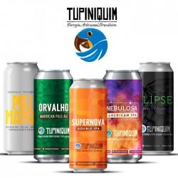 Kit Degustação Tupiniquim com 5 Cervejas