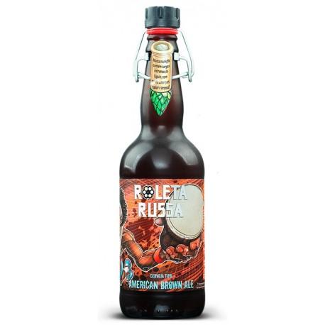 Cerveja Roleta Russa American Brown Ale 500ml