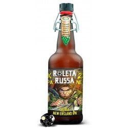 Cerveja Roleta Russa Double New England IPA 500ml