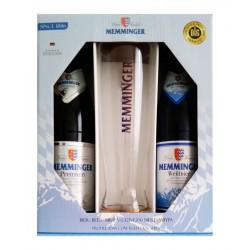 Kit Memminger com 2 Cervejas e 1 Copo