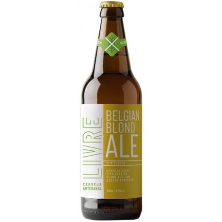 Cerveja Livre Belgian Blond Ale Sem Glúten 600ml