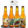 Kit Degustação Roleta Russa com 4 Cervejas 355ml