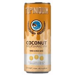 Cerveja Tupiniquim Coconut Milkshake IPA 350ml