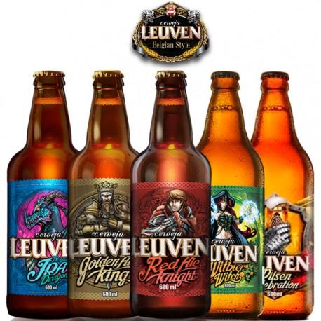 Kit Degustação Leuven com 5 Cervejas