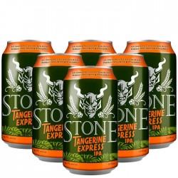 Kit com 6 Cervejas Stone Tangerine Express IPA 355ml