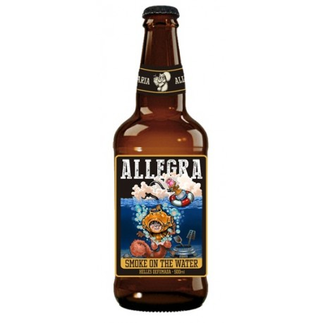 Cerveja Allegra Smoke On The Water 500ml