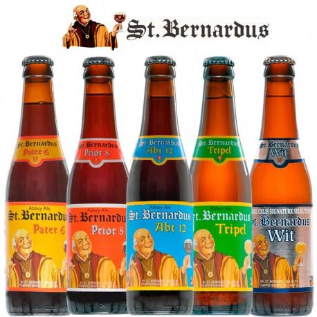 Kit Degustação St. Bernardus com 5 Cervejas