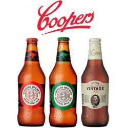 Kit Degustação Cervejas Australianas Coopers com 3 Garrafas