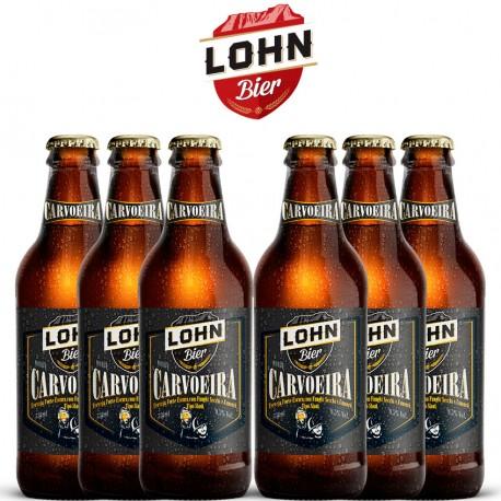 Kit Degustação Lohn Bier Carvoeira com 6 Cervejas