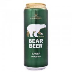Cerveja Dinamarquesa Bear Beer Premium Lager 500ml