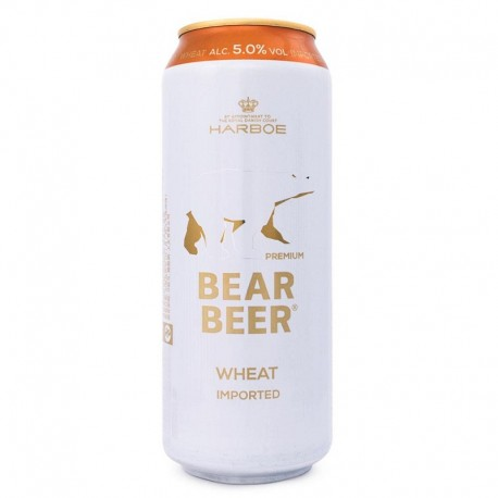 Cerveja Dinamarquesa Bear Beer Wheat 500ml