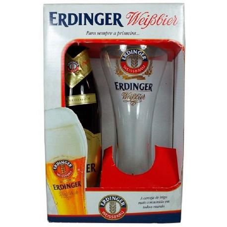 Kit da Cerveja Erdinger Pikantus com 1 Garrafa e 1 Copo