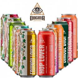 Kit Degustação da Cervejaria Dogma Com 12 Latas 473ml
