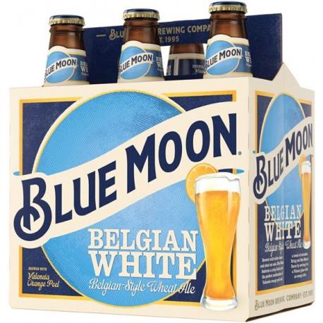 Pack com 6 Cervejas Blue Moon 355ml
