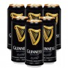 Pack com 6 Cervejas Irlandesas Guinness 440ml