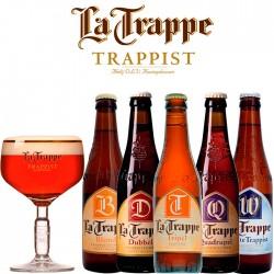 Kit Degustação La Trappe com 5 Cervejas e 1 Copo