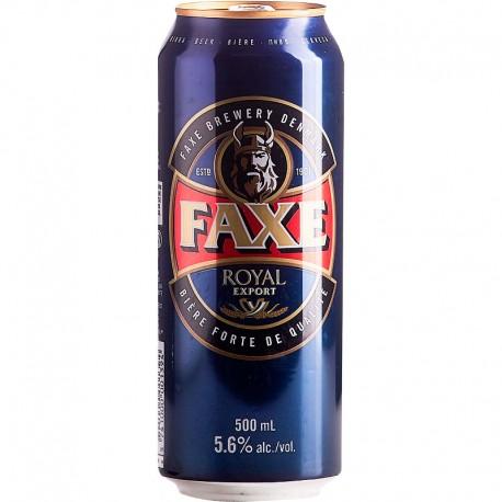 Cerveja Dinamarquesa Faxe Royal Export 500ml