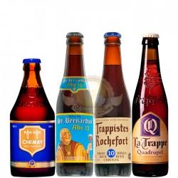Kit Degustação do Estilo Quadrupel com 4 Cervejas