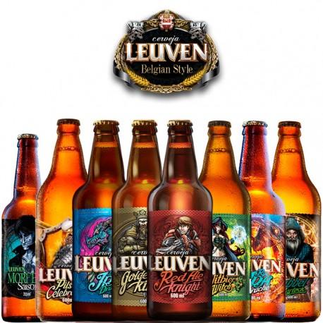 Kit Degustação Leuven com 8 Cervejas