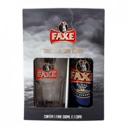 Kit da Cerveja Faxe Royal Com 1 Lata 500ml e 1 Copo