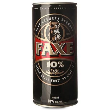 Cerveja Dinamarquesa Faxe 10% Extra Strong 1000ml