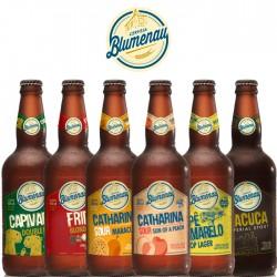 Kit Degustação da Cerveja Blumenau com 6 Garrafas