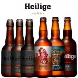 Kit Degustação Heilige com 6 Cervejas