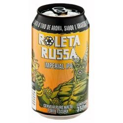 Cerveja Roleta Russa Imperial IPA Lata 350ml