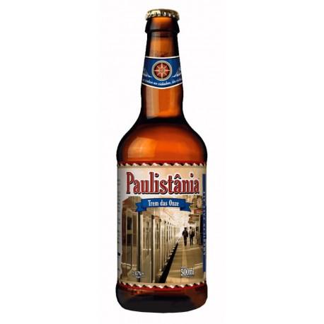 Cerveja Paulistânia Trem das Onze 500ml