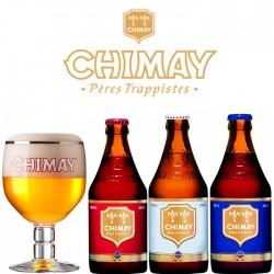 Kit Degustação Chimay com Copo