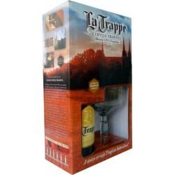 Kit La Trappe Blond com 1 Cerveja 750ml e 1 Taça