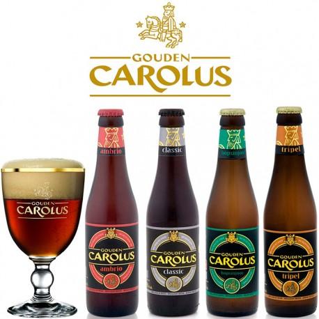 Kit Degustação Gouden Carolus com 4 Cervejas