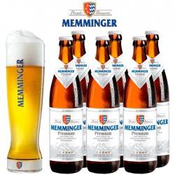 Kit Degustação Memminger com 6 Cervejas e 1 Copo