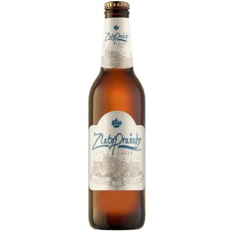 Cerveja Tcheca ZlatoPrazske Lager 500ml