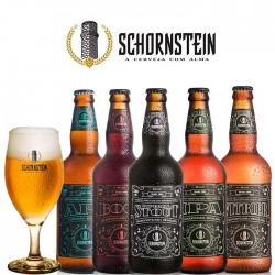 Kit Degustação Schornstein com 5 Cervejas e 1 Taça