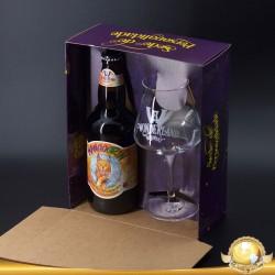 Kit Wonderland Mango Grin com 1 Cerveja e 1 Taça