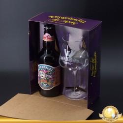 Kit Wonderland Tweedles com 1 Cerveja e 1 Taça