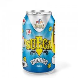 Cerveja Farra Bier Sueca Pilsen 350ml
