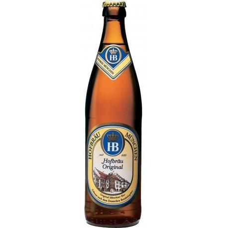 Cerveja Alemã Hofbräu Müncher HB Original 500ml