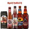Kit Degustação Iron Maiden Trooper com 5 Cervejas