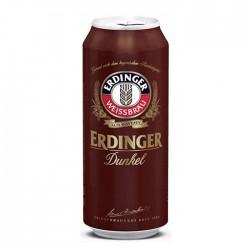 Cerveja Alemã Erdinger Dunkel Lata 500ml